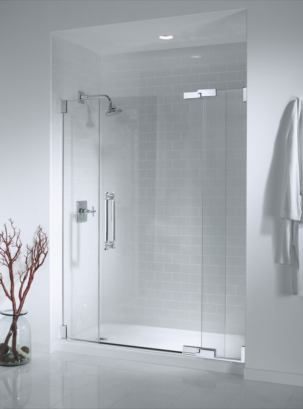 Express shower doors and glass for Bathroom glass door designs